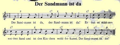 sandmanns lieder de